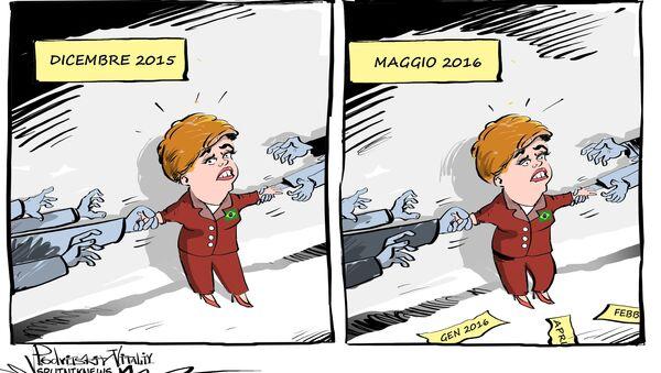 Impeachment per Dilma Rousseff - Sputnik Italia