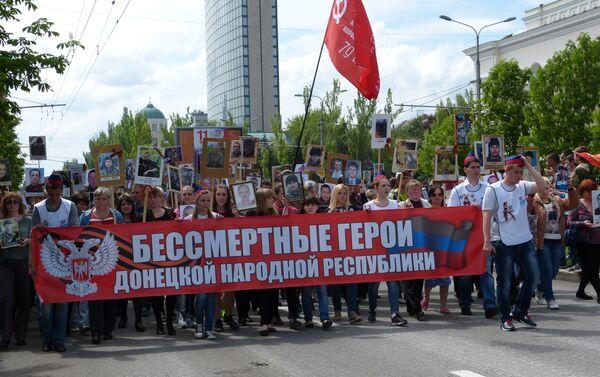 Parata a Donetsk - Sputnik Italia