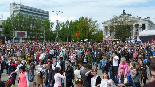 La folla durante la Parata - Sputnik Italia