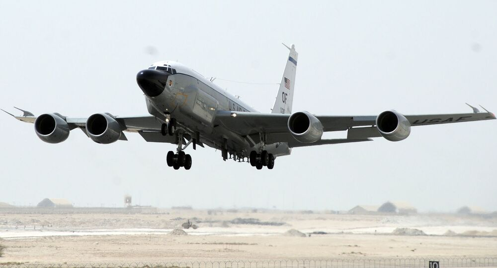 Aereo spia USA RC-135W