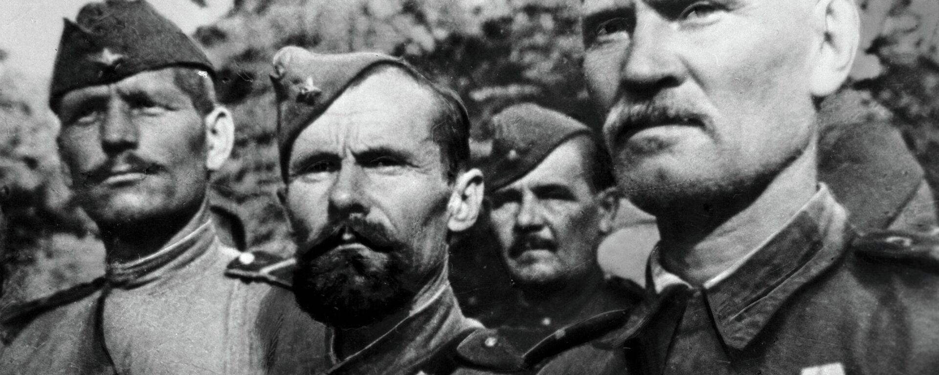 Soldati dell'Armata Rossa - Sputnik Italia, 1920, 14.11.2020