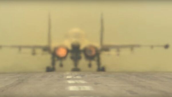 Aerei russi alla base aerea Hmeimim - Sputnik Italia