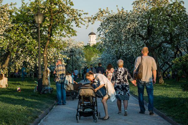 Una passeggiata nel parco di Kolomenskoe - Sputnik Italia