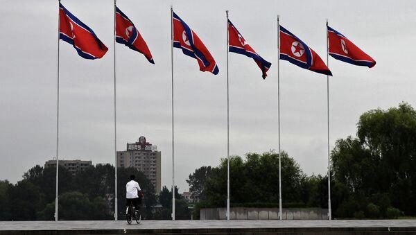La bandiera nordcoreana - Sputnik Italia