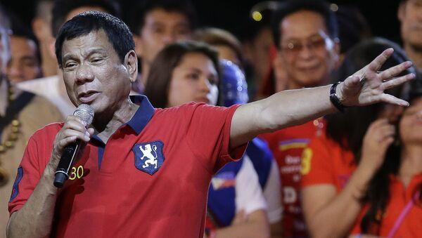 Rodrigo Duterte, presidente delle Filippine - Sputnik Italia