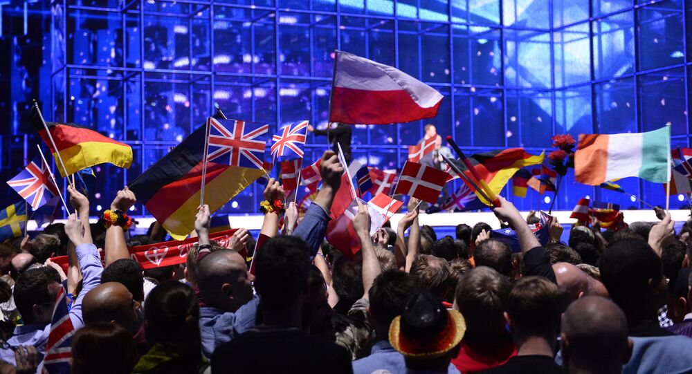 La finale dell' Eurovision Song Contest 2014 a Copenhagen, Denmark, on May 10, 2014