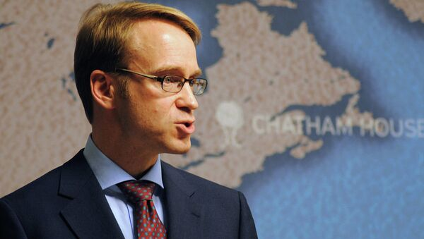 Jens Weidmann, governatore della banca centrale tedesca Bundesbank - Sputnik Italia