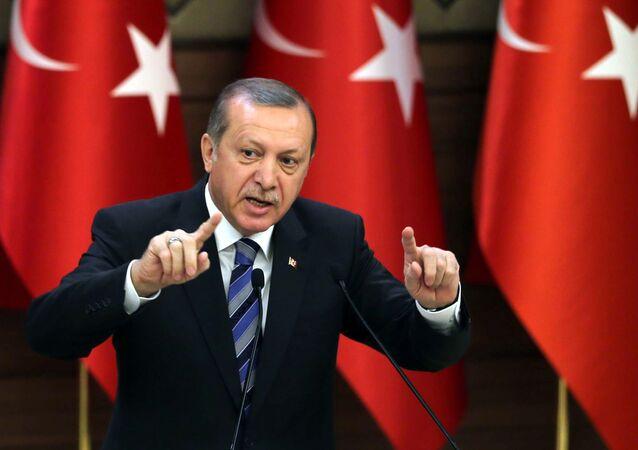 Recep Tayyip Erdogan (foto d'archivio)
