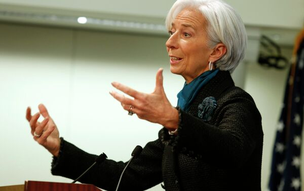 Christine Lagarde, ex direttore Fmi e nuovo presidente Bce - Sputnik Italia