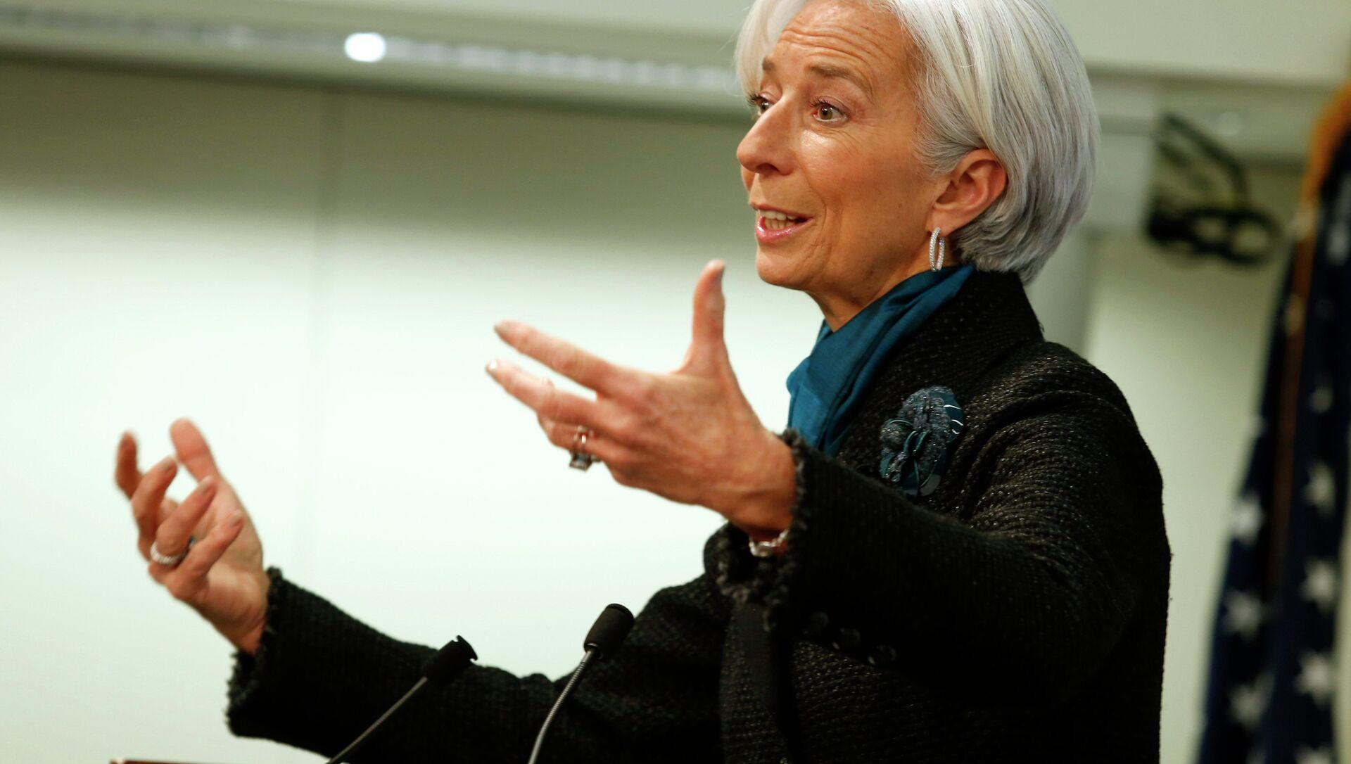 Christine Lagarde, ex direttore Fmi e nuovo presidente Bce - Sputnik Italia, 1920, 10.04.2021