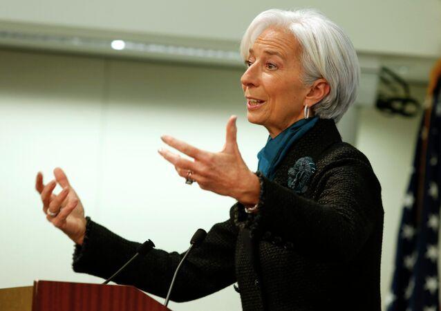 Christine Lagarde, direttrice FMI