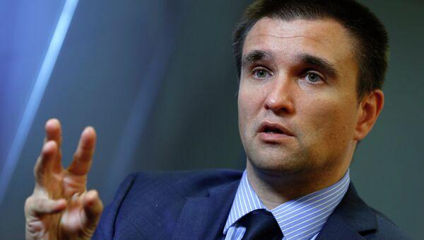 Pavlo Klimkin, ministro degli Esteri dell'Ucraina - Sputnik Italia