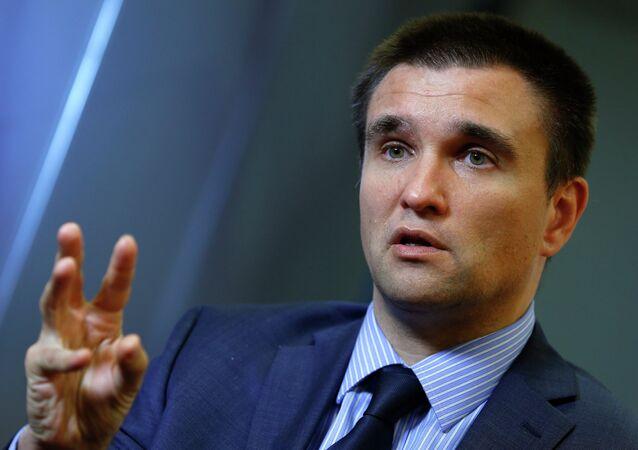 Pavlo Klimkin, ministro degli Esteri dell'Ucraina