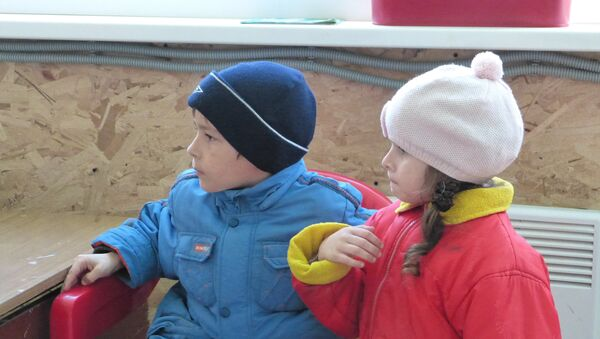 Bambini del Donbass in centro di accoglienza in Russia - Sputnik Italia