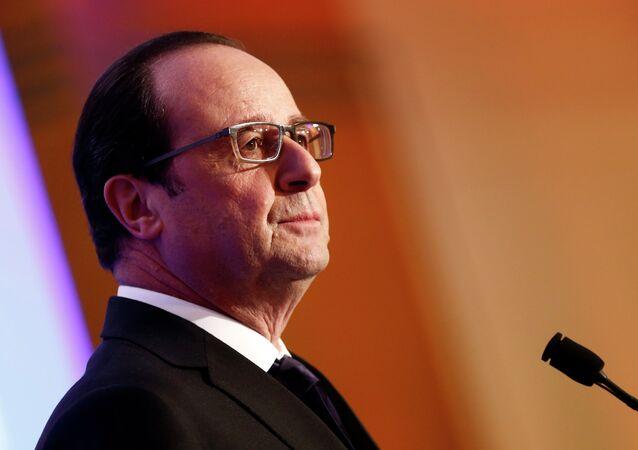 Francois Hollande, presidente della Francia