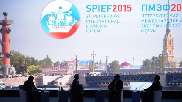L'apertura del forum di San Pietroburgo 2015 (SPIEF) - Sputnik Italia