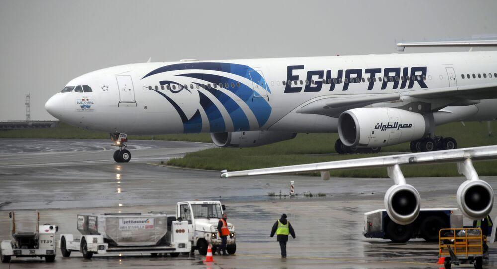 L'aereo della EgyptAir precipitato nel Mediterraneo il 19 maggio 2016
