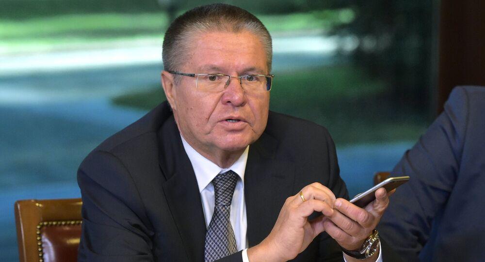 Il ministro dello Sviluppo Economico, Alexei Ulyukayev
