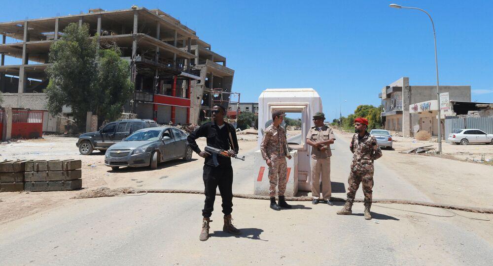 Militari delle Forze Armate della Libia