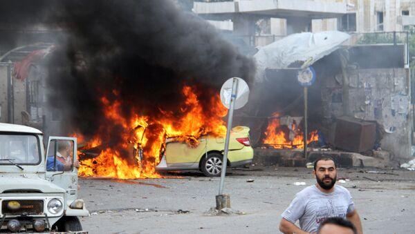 Взрыв в сирийском городе Тартус - Sputnik Italia