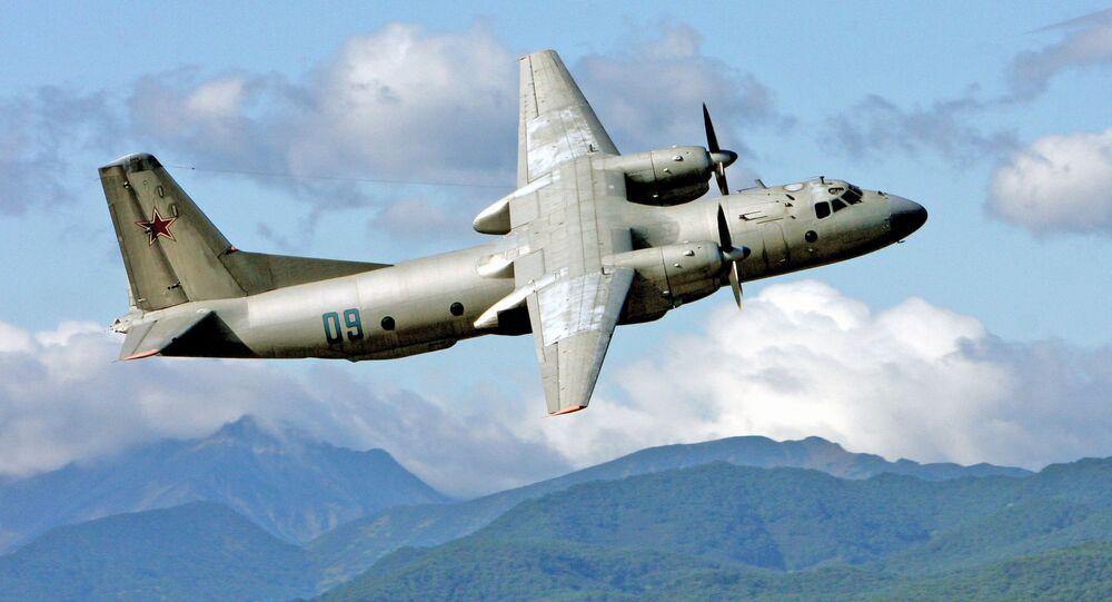 Aereo da trasporto militare An-26 (Foto d'archivio)