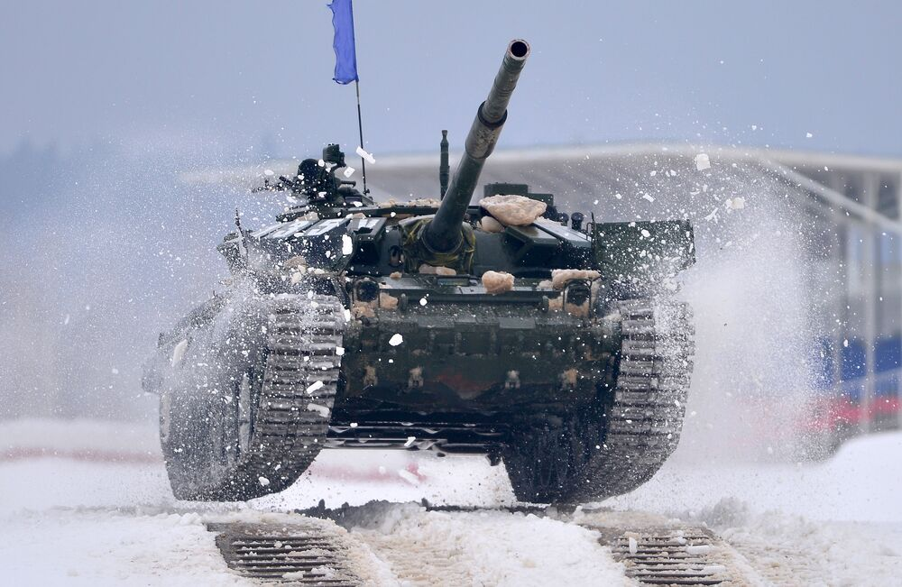 Carro armato T-72.