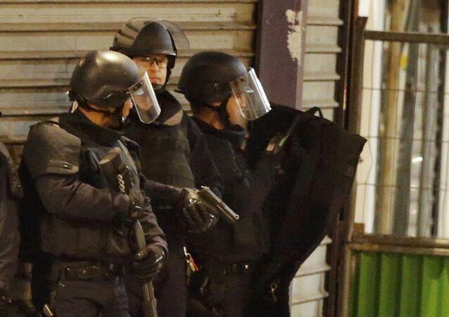 Forze speciali della polizia francese