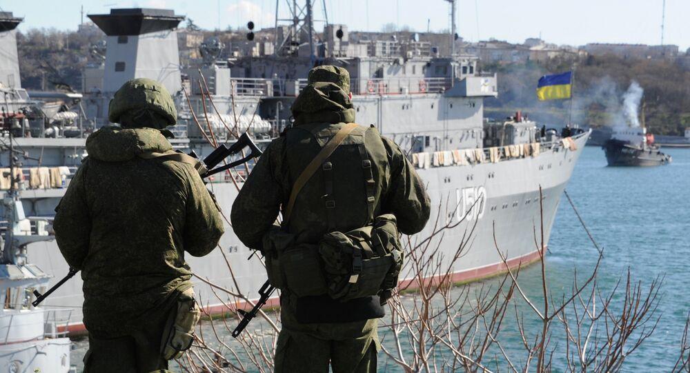 Nave da guerra ucraina
