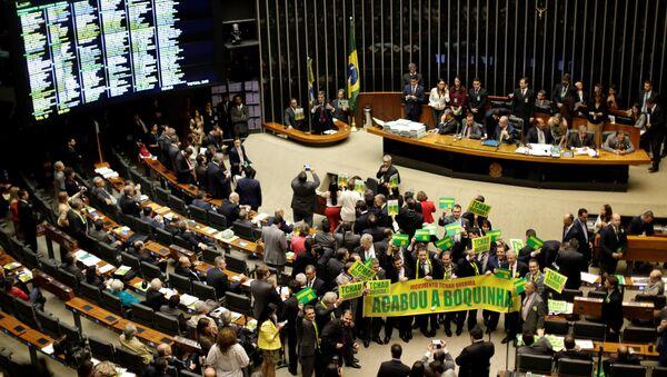 Il Parlamento del Brasile - Sputnik Italia