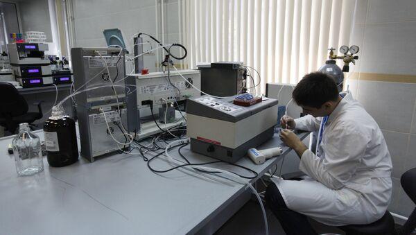Uno dei laboratori di WADA - Sputnik Italia