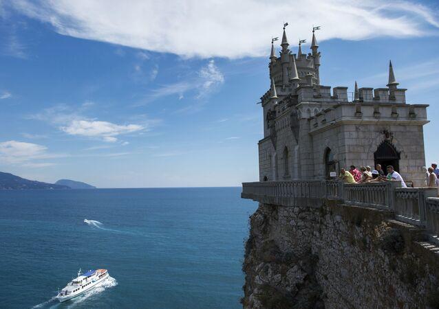 Il castello Nido di Rondine, Crimea