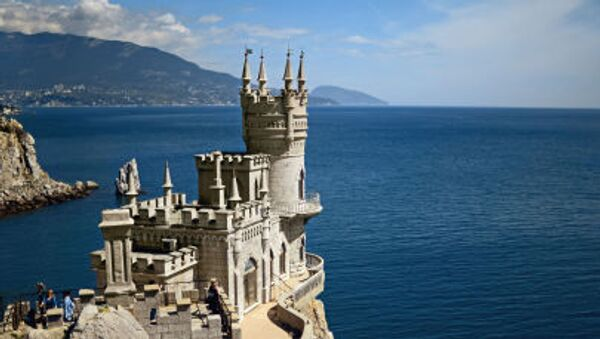Il castello Nido di Rondine, Crimea - Sputnik Italia