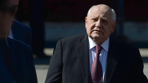 Mikhail Gorbaciov, politico sovietico, l'ultimo presidente dell'URSS - Sputnik Italia