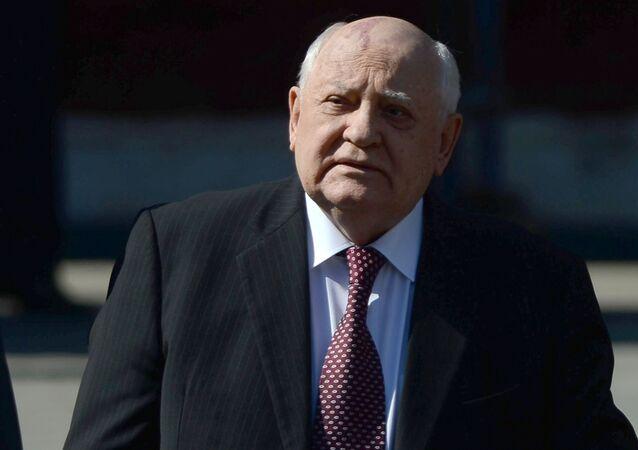 Michail Gorbaciov, politico sovietico, l'ultimo presidente dell'URSS