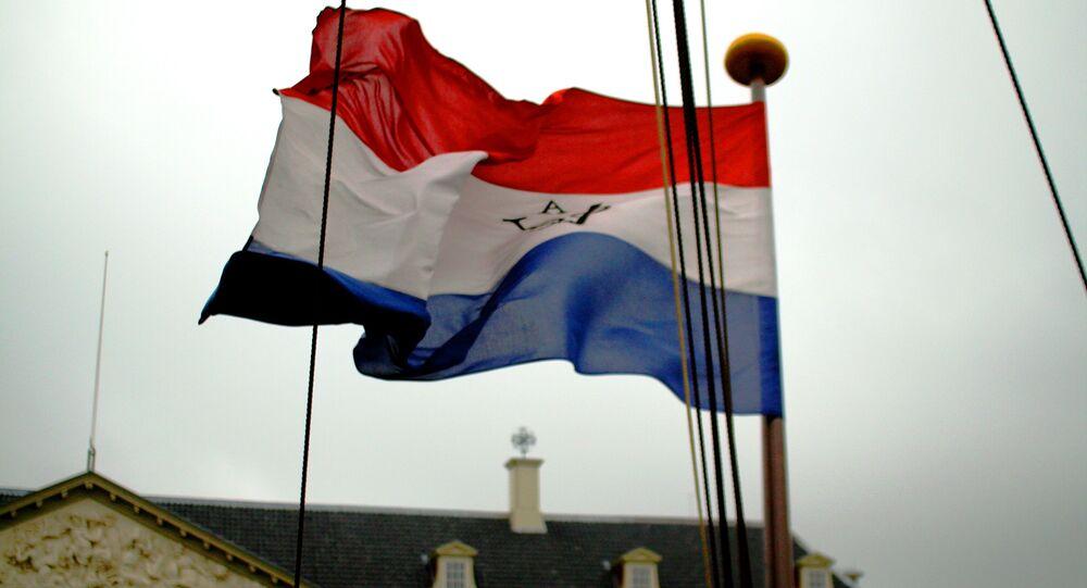 La bandiera dei Paesi Bassi