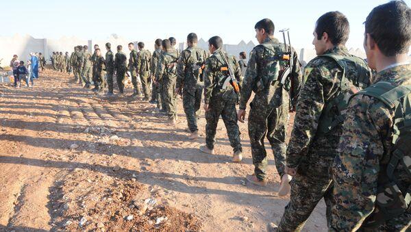 Militari siriani in Raqqa - Sputnik Italia
