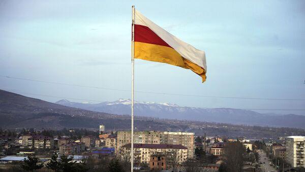 La bandiera dell'Ossezia del Sud - Sputnik Italia
