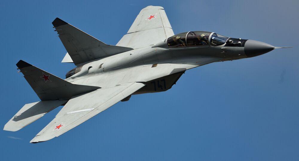 L'aereo MiG-35.