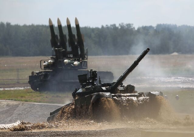 Carro armato russo T-90