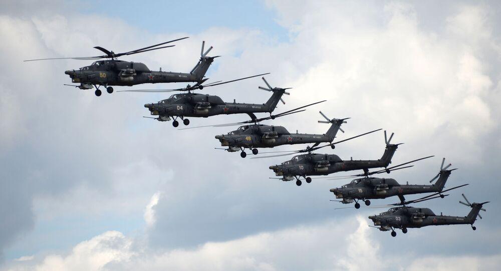 Gli elicotteri Mi-28