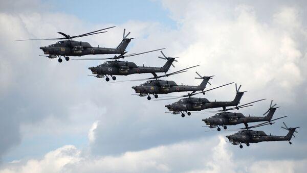 Gli elicotteri Mi-28 - Sputnik Italia