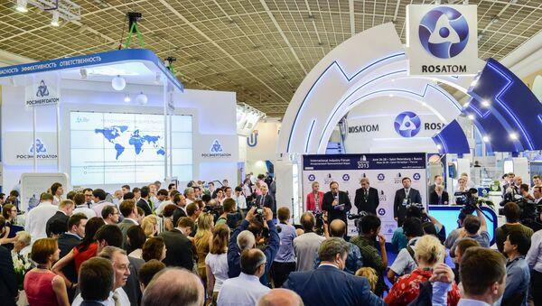 Rosatom al forum Atomexpo - Sputnik Italia