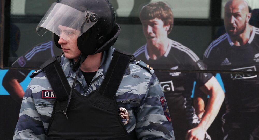 Poliziotto russo