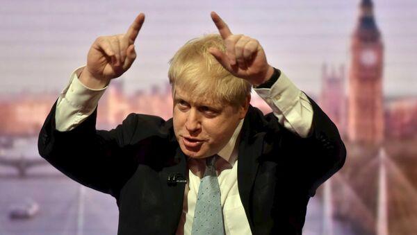 Ex sindaco di Londra Boris Johnson - Sputnik Italia