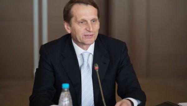 Presidente Duma russa Sergey Naryshkin - Sputnik Italia