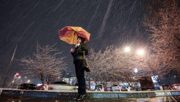 Attesa sotto la neve - Sputnik Italia