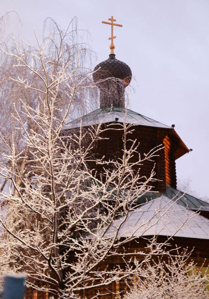 La cattedrale di San Giovanni a Zhulebino