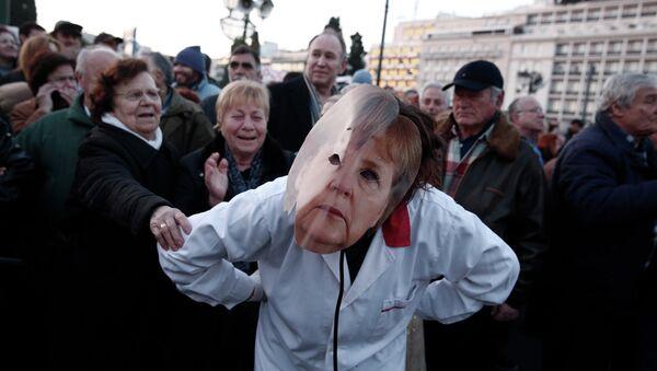 """""""Еscludo al 100% una Grexit"""" dichiara il presidente della Commissione UE Jean Claude Juncker - Sputnik Italia"""