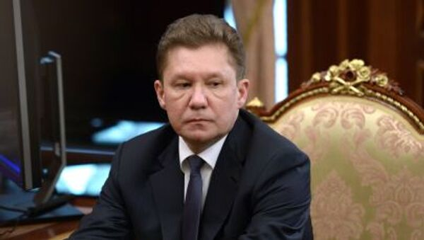 Amministratore Delegato di Gazprom Alexey Miller - Sputnik Italia