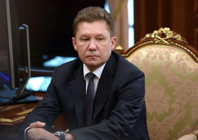 Amministratore Delegato di Gazprom Alexey Miller